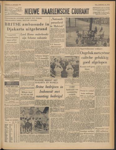Nieuwe Haarlemsche Courant 1963-09-18