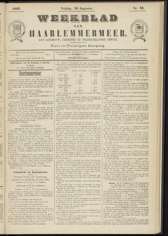 Weekblad van Haarlemmermeer 1883-08-10