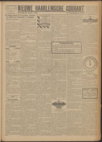 Nieuwe Haarlemsche Courant 1923-01-20