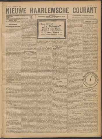 Nieuwe Haarlemsche Courant 1922-02-13