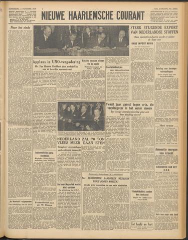 Nieuwe Haarlemsche Courant 1949-11-03