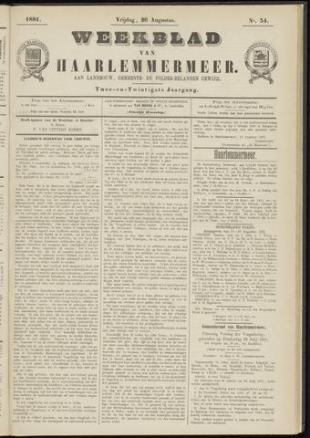 Weekblad van Haarlemmermeer 1881-08-26