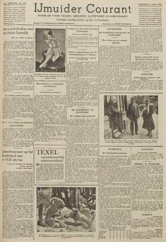 IJmuider Courant 1939-08-02