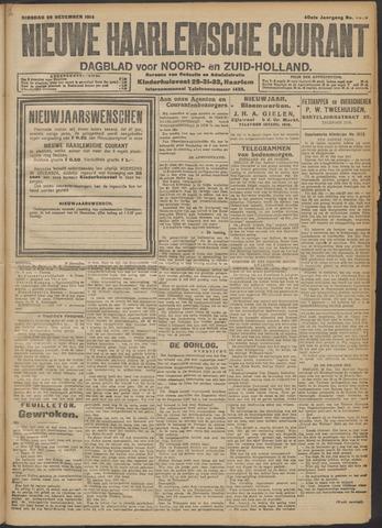 Nieuwe Haarlemsche Courant 1914-12-29