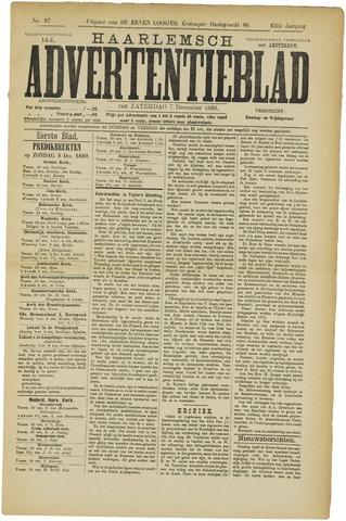 Haarlemsch Advertentieblad 1889-12-07
