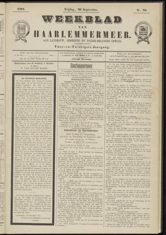 Weekblad van Haarlemmermeer 1881-09-30