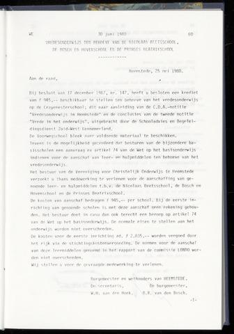 Raadsnotulen Heemstede 1988-06-30