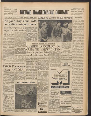 Nieuwe Haarlemsche Courant 1961-04-21