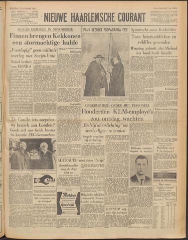 Nieuwe Haarlemsche Courant 1961-11-27