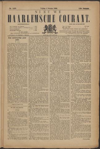 Nieuwe Haarlemsche Courant 1889-10-04