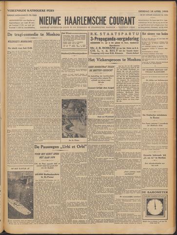 Nieuwe Haarlemsche Courant 1933-04-18