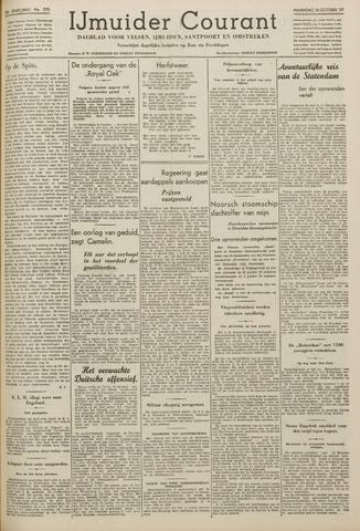 IJmuider Courant 1939-10-16