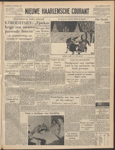 Nieuwe Haarlemsche Courant 1957-10-30