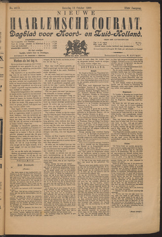 Nieuwe Haarlemsche Courant 1900-10-13