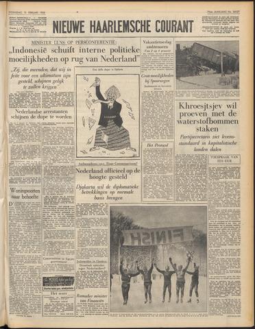 Nieuwe Haarlemsche Courant 1956-02-15