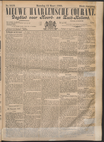 Nieuwe Haarlemsche Courant 1900-03-12