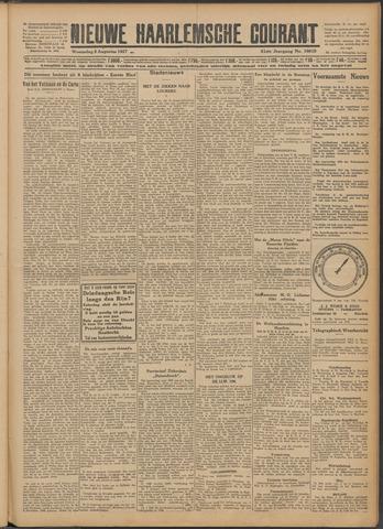 Nieuwe Haarlemsche Courant 1927-08-03