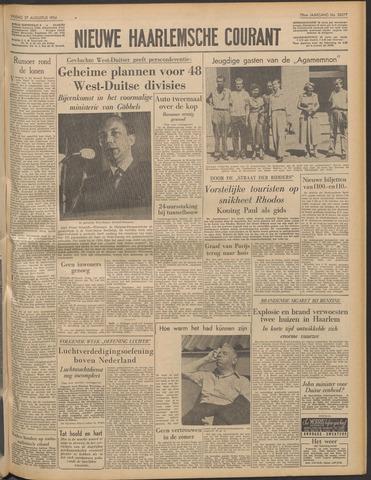 Nieuwe Haarlemsche Courant 1954-08-27
