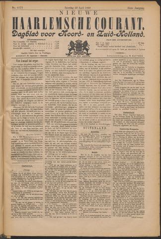 Nieuwe Haarlemsche Courant 1899-04-29