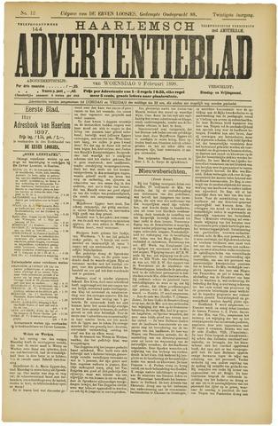 Haarlemsch Advertentieblad 1898-02-09