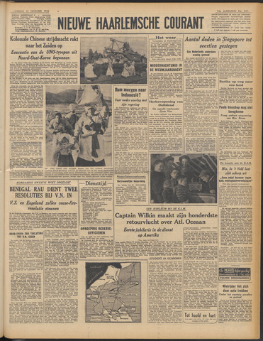 Nieuwe Haarlemsche Courant 1950-12-13