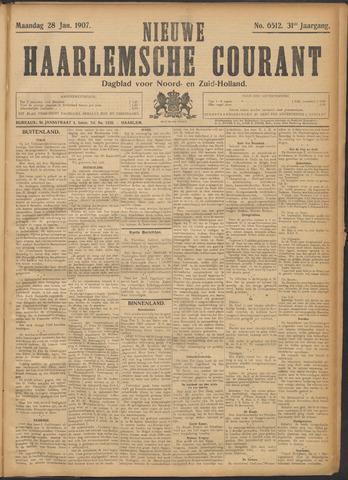 Nieuwe Haarlemsche Courant 1907-01-28