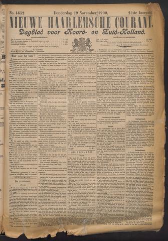 Nieuwe Haarlemsche Courant 1900-11-29