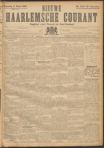 Nieuwe Haarlemsche Courant 1907-03-11