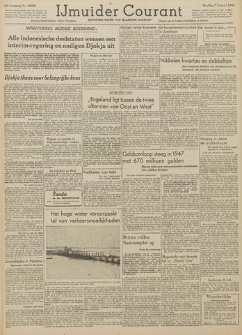 IJmuider Courant 1948-01-05