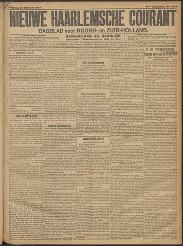 Nieuwe Haarlemsche Courant 1916-10-13