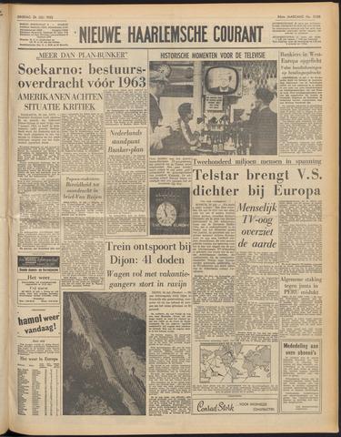 Nieuwe Haarlemsche Courant 1962-07-24