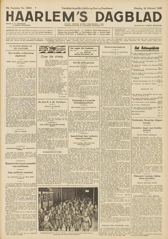 Haarlem's Dagblad 1935-02-19