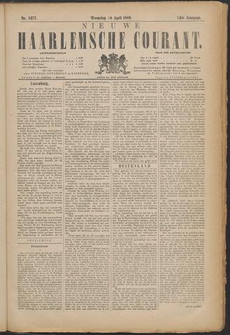 Nieuwe Haarlemsche Courant 1889-04-10
