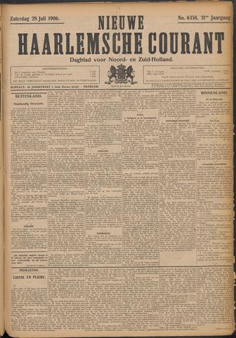 Nieuwe Haarlemsche Courant 1906-07-28