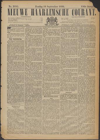 Nieuwe Haarlemsche Courant 1894-09-16