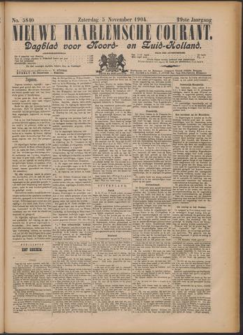 Nieuwe Haarlemsche Courant 1904-11-05