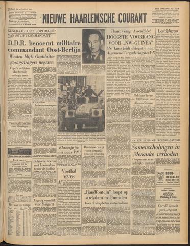Nieuwe Haarlemsche Courant 1962-08-24