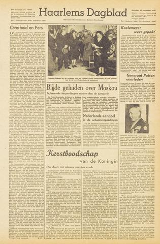Haarlem's Dagblad 1945-12-22