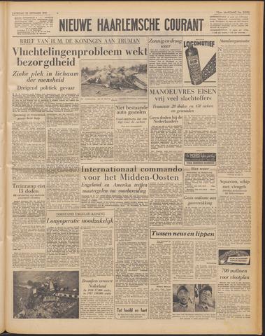 Nieuwe Haarlemsche Courant 1951-09-22
