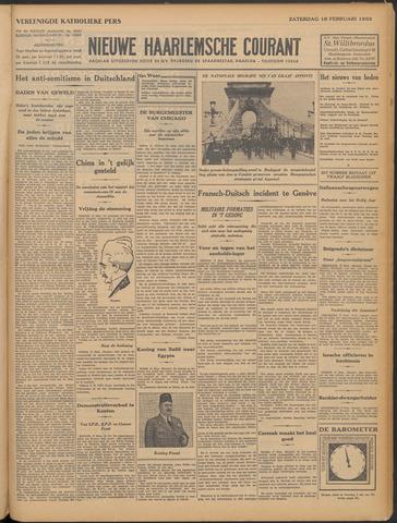 Nieuwe Haarlemsche Courant 1933-02-18