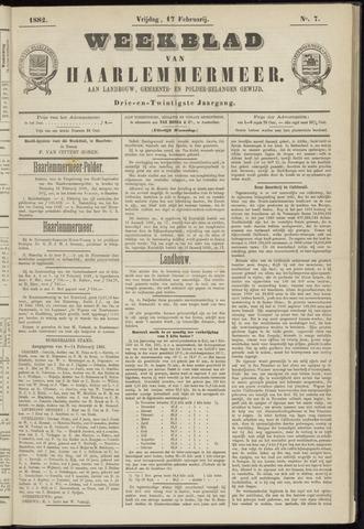 Weekblad van Haarlemmermeer 1882-02-17