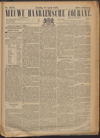 Nieuwe Haarlemsche Courant 1895-04-14