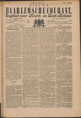 Nieuwe Haarlemsche Courant 1899-03-21