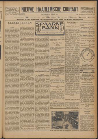 Nieuwe Haarlemsche Courant 1931-04-11