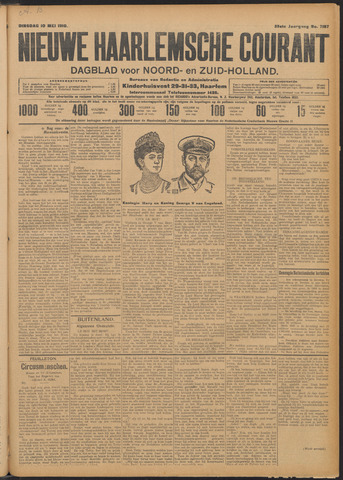 Nieuwe Haarlemsche Courant 1910-05-10