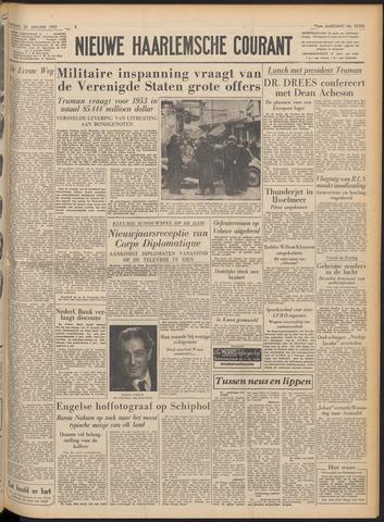 Nieuwe Haarlemsche Courant 1952-01-22