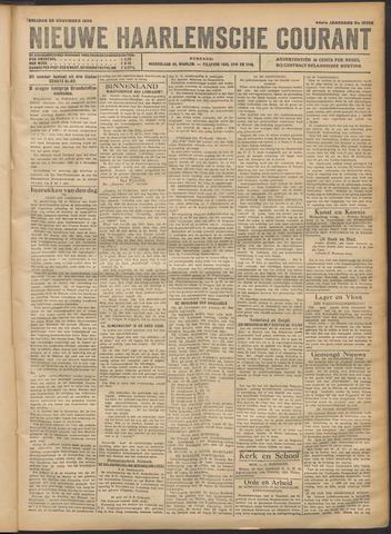 Nieuwe Haarlemsche Courant 1920-11-26