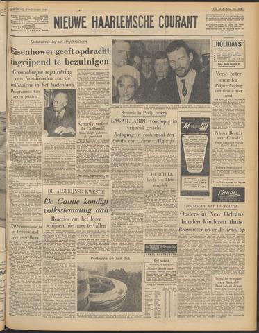 Nieuwe Haarlemsche Courant 1960-11-17