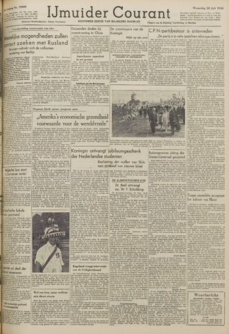IJmuider Courant 1948-07-28