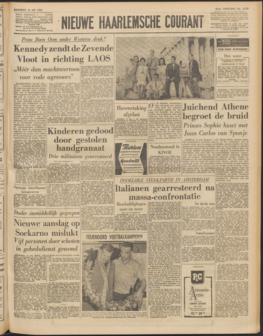 Nieuwe Haarlemsche Courant 1962-05-14